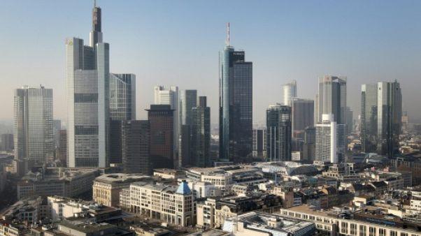 Brexit: Francfort en pole position pour l'attrait de banques londoniennes