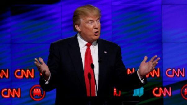 Escalade sur Twitter, Trump se met en scène dans une bagarre avec CNN