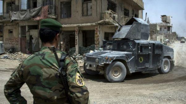 A Mossoul, l'EI multiplie les attentats suicide pour freiner les forces irakiennes