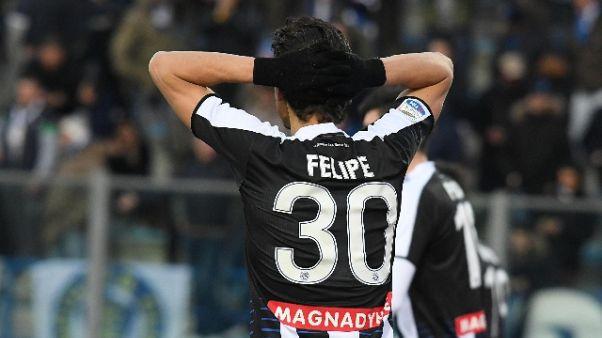 Udinese, Felice saluta i tifosi