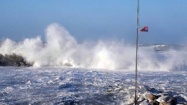 Maltempo:venti da forti a burrasca a Sud