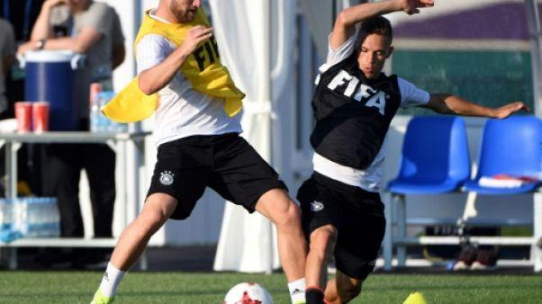 Coupe des Confédérations: Mustafi en défense côté allemand, Chili inchangé en finale