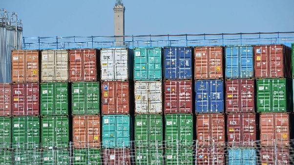 In container 2 migranti in porto Genova
