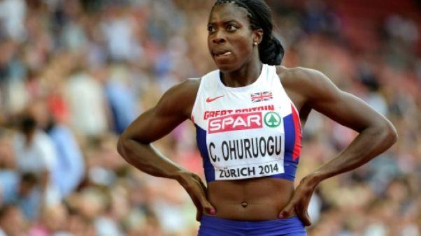 Athlétisme: Ohuruogu éliminée lors des sélections britanniques pour les Mondiaux