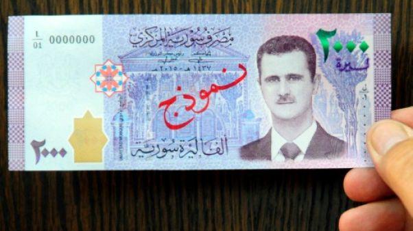 Syrie: Assad en effigie sur un billet de banque, une première