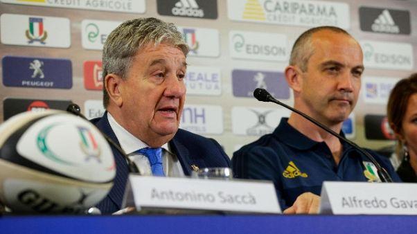 """Rugby: Gavazzi """"Fiducia in O'Shea"""""""