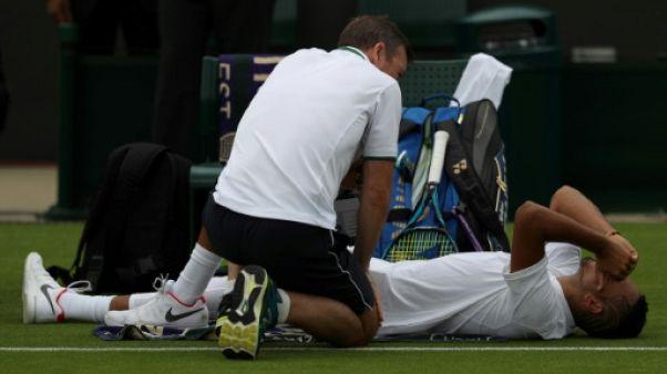 Wimbledon: Pierre-Hugues Herbert profite de l'abandon de Kyrgios