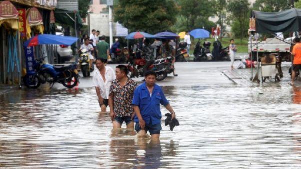 Inondations en Chine: plus de 40 morts et disparus