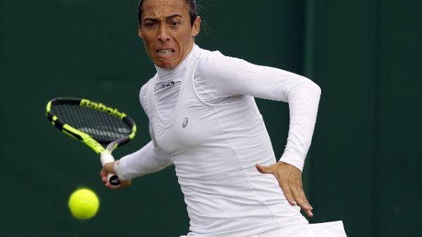Wimbledon: Schiavone avanti facile