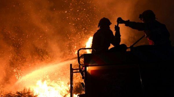 Portugal: Sept sapeurs-forestiers blessés dans un nouveau feu de forêt