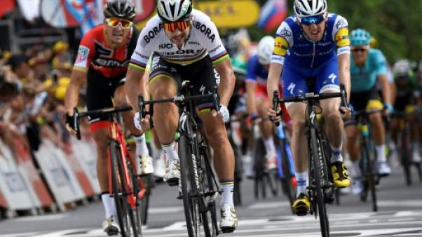 Tour de France: Peter Sagan, le show mais pas uniquement