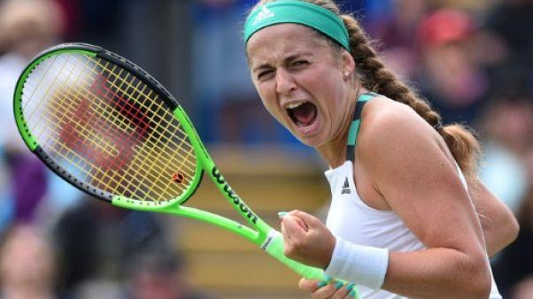 Wimbledon: Ostapenko file au deuxième tour