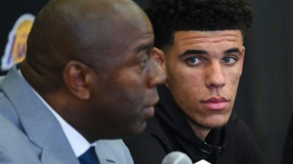 NBA: Lonzo Ball signe un contrat de quatre ans avec les LA Lakers