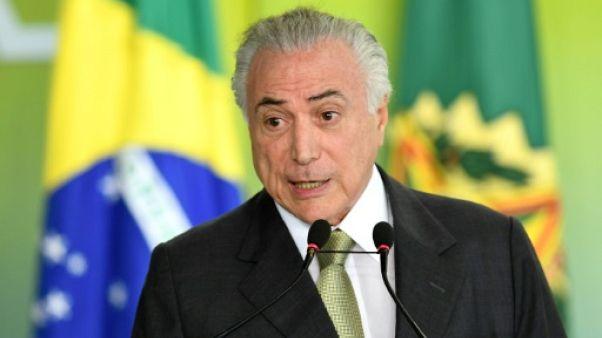 Brésil: le président Michel Temer ira bien au G20