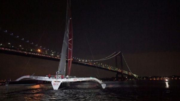 The Bridge: Francis Joyon termine deuxième en 8 jours et 11 heures