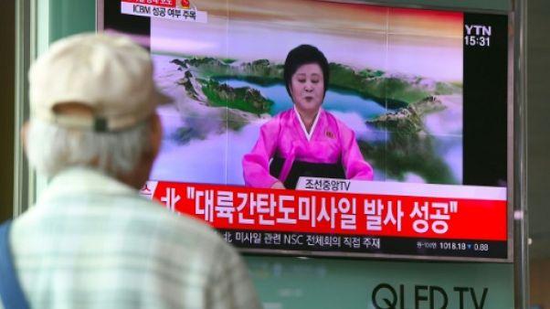 Essai de missile: Pyongyang mobilise la présentatrice des grands jours