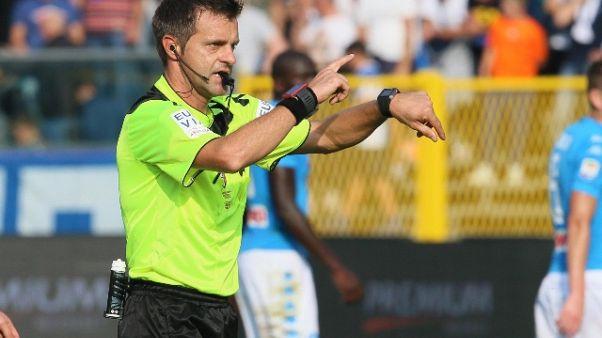 Arbitro Rizzoli, comincia nuovo impegno