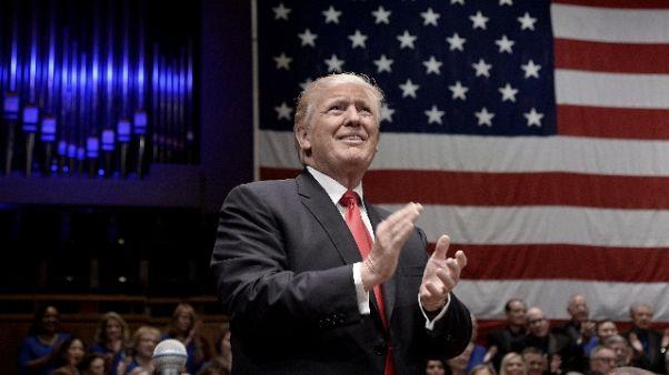 Mattarella a Trump, rafforzare rapporti