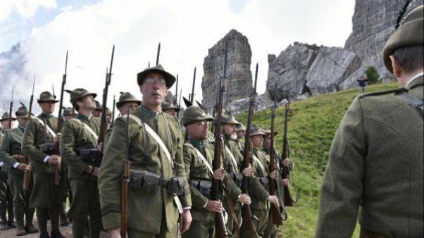 Alpini:Pinotti e Graziano a 5 Torri 2017