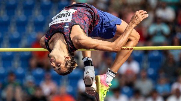 Atletica: Tamberi torna a quota 2,28