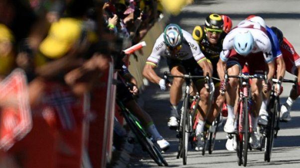 Tour de France: exclusion de Sagan, un carton rouge long à venir