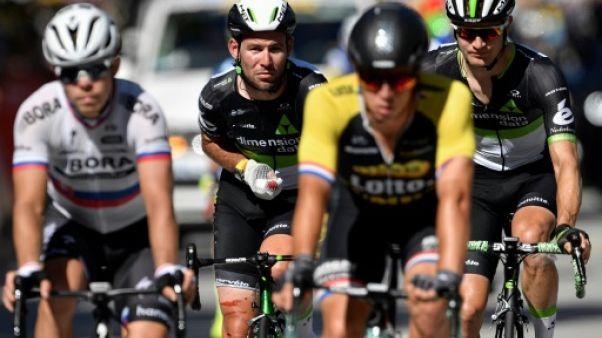 Tour de France: Cavendish, blessé, contraint à l'abandon