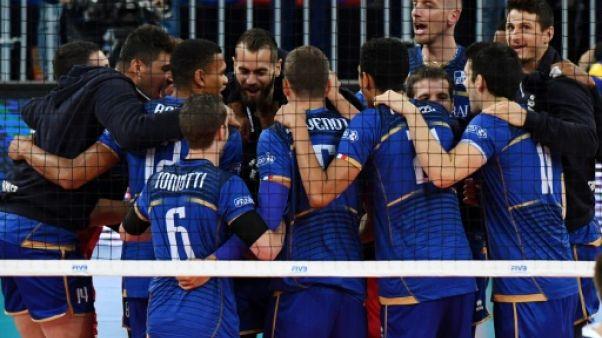 Volley/Ligue mondiale - Les Bleus s'imposent sur le fil face aux Etats-Unis