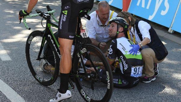 Tour: Cavendish costretto al forfait