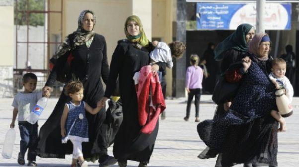 Raqa-Alep, l'interminable périple des rescapés de l'EI