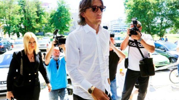 Foot/Justice: Modric (Real Madrid), accusé de faux témoignage, entendu par les procureurs