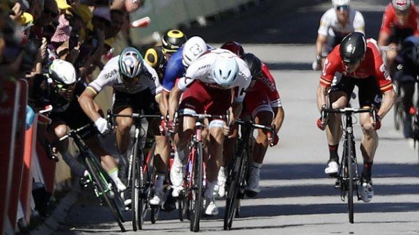 Tour: Sagan,nessuna gomitata a Cavendish