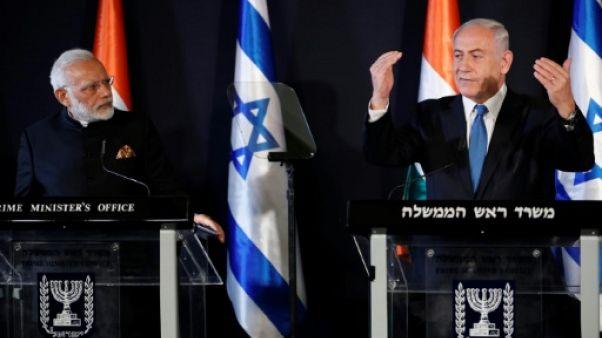 Modi et Netanyahu veulent élargir la coopération entre l'Inde et Israël