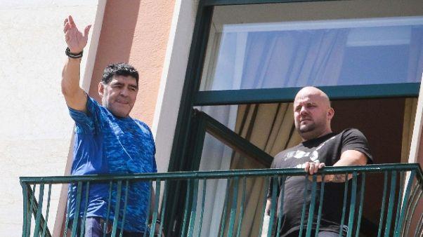 Maradona riceverà cittadinanza in Comune