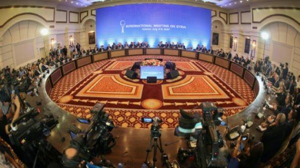 Pas d'accord sur les zones de désescalade en Syrie aux négociations d'Astana