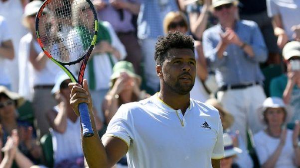Wimbledon: Tsonga retrouve Querrey au 3e tour