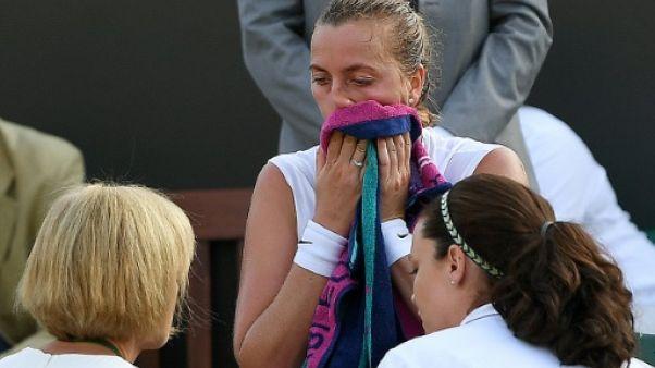 Wimbledon: Kvitova éliminée dès le 2e tour par la 95e mondiale