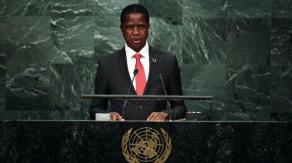 Zambie: le président Lungu sollicite l'instauration de l'état d'urgence