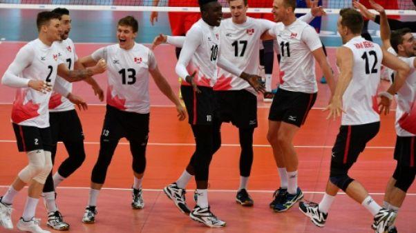 Volley: le Canada écrase la Russie et file en demi-finales de la Ligue mondiale