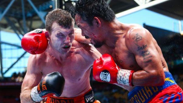 """Boxe/WBO - Horn à Pacquiao: une """"revanche"""" oui, une révision non"""