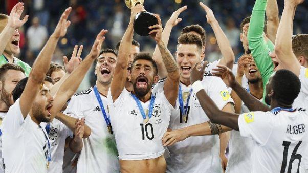 Calcio, Germania n. 1 nel ranking Fifa