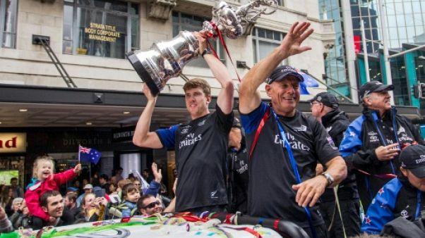 Coupe de l'America - Triomphe à Auckland pour le Team New Zealand