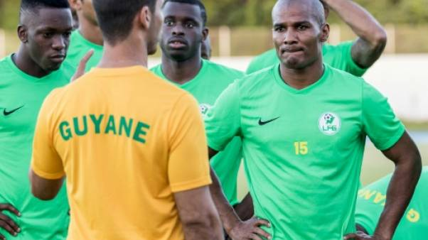 Foot: la Guyane aborde la Gold Cup avec les moyens du bord et... Malouda