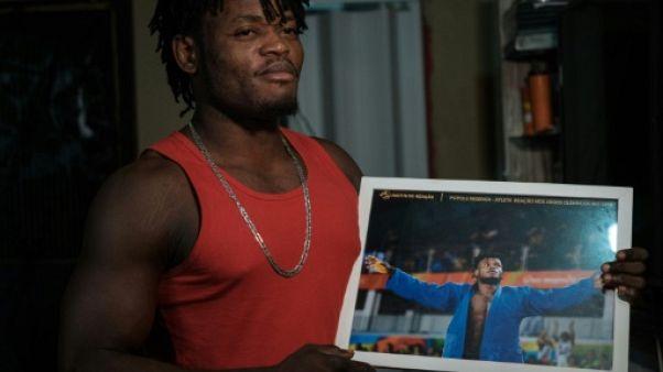 Loin du lustre olympique, les tourments d'un judoka réfugié à Rio