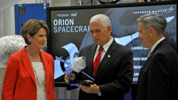 """Exploration spatiale: le vice-président américain promet une """"nouvelle ère"""""""