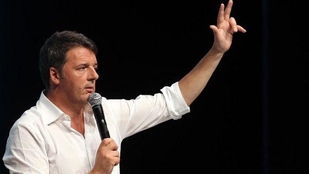 Renzi, basta parlare solo di alleanze