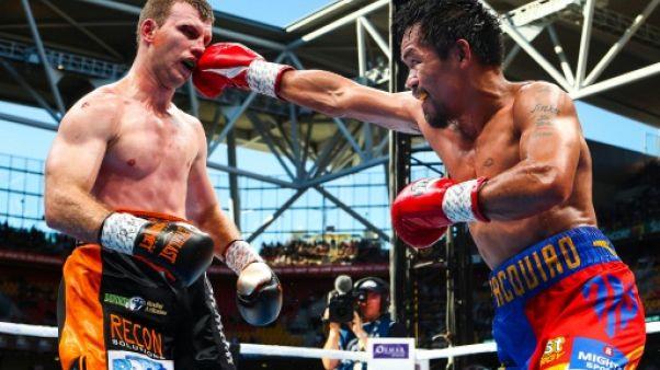 Boxe: La WBO va revoir le pointage du combat Pacquiao-Horn