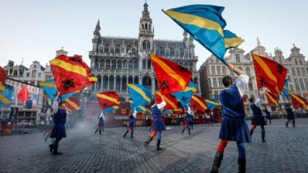 """""""L'Ommegang"""" fait revivre Bruxelles au temps de Charles Quint"""