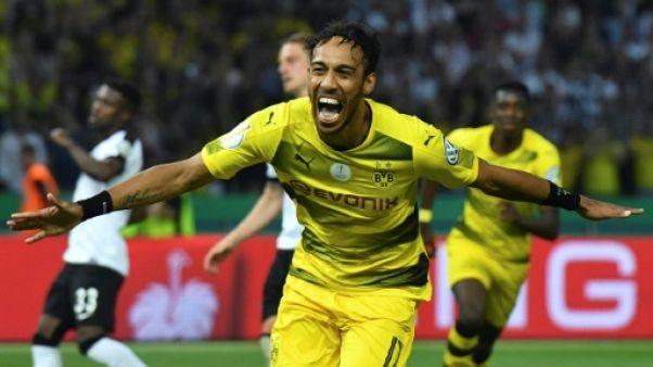 Foot: Aubameyang a repris l'entraînement avec Dortmund