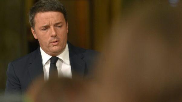 Migrants: Matteo Renzi évoque un numerus clausus