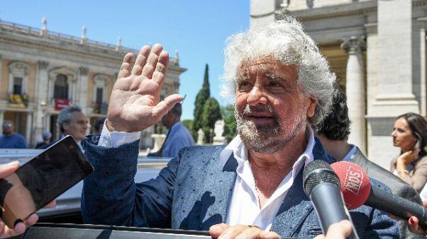 Blog Grillo, voto per Presidente Sicilia